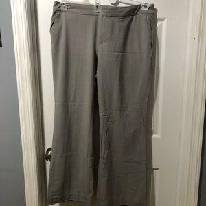 Light gray stretch trouser